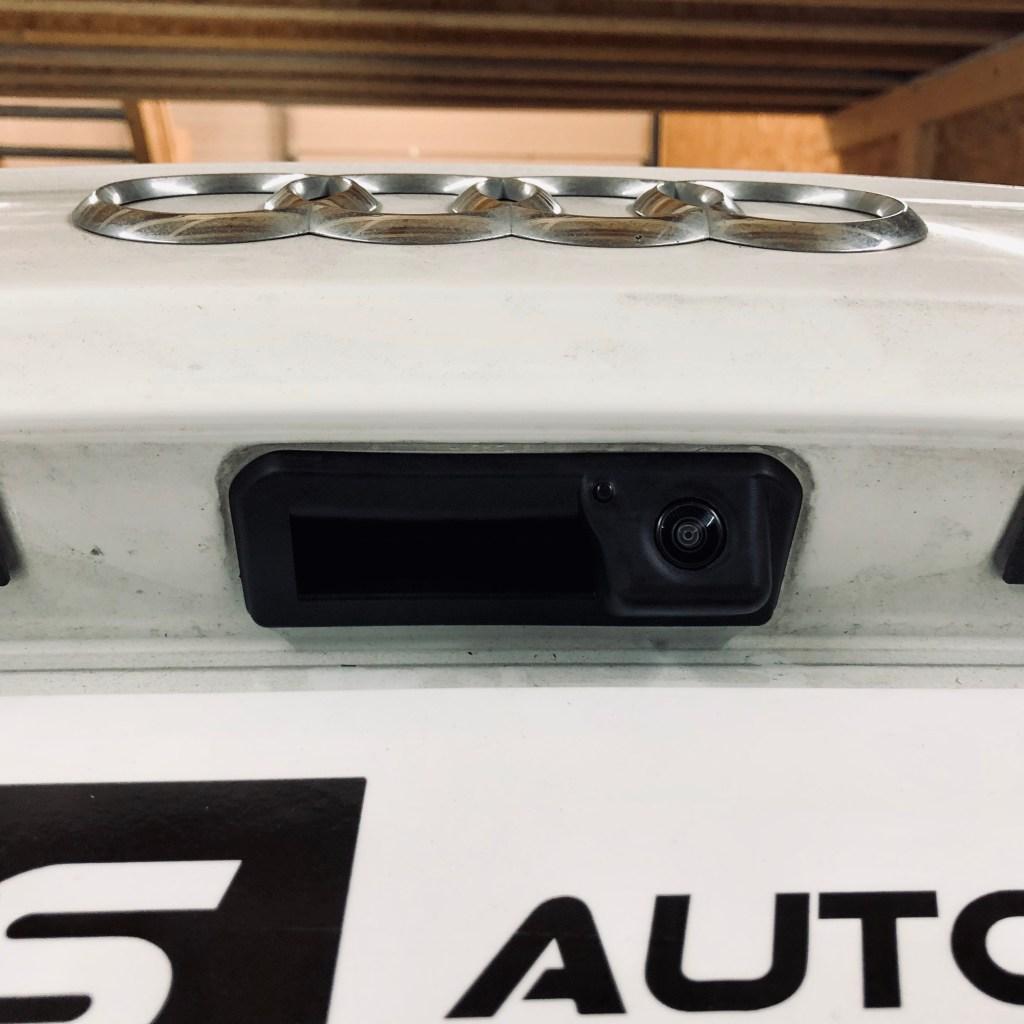 Installation caméra de recul